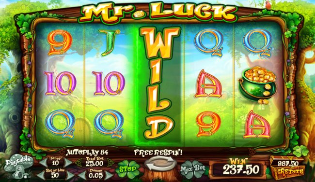 Free Slots 247 - Multiple winning paylines triggers a big win