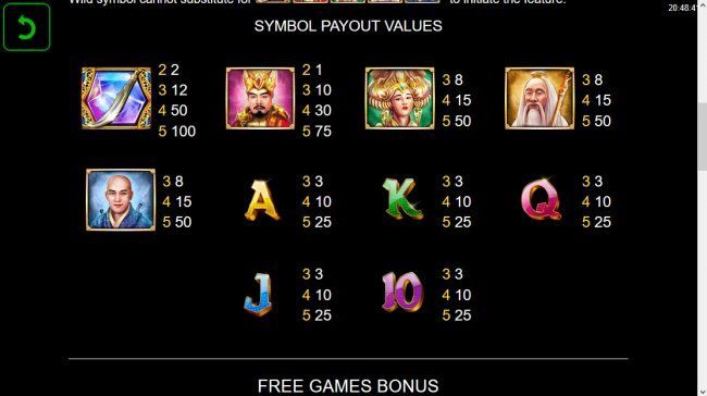 Free Slots 247 image of Power of Gods