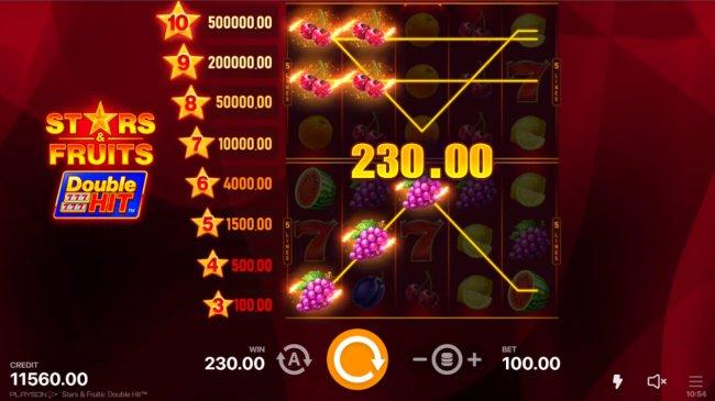 Stars & Fruits Double Hit screenshot