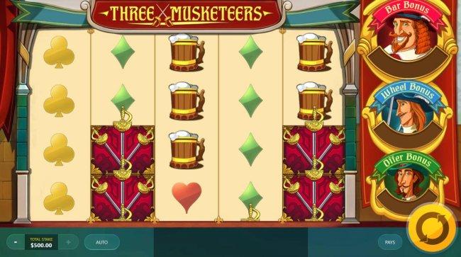 Three Musketeers by Free Slots 247