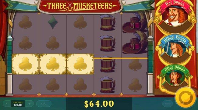 Three Musketeers screenshot
