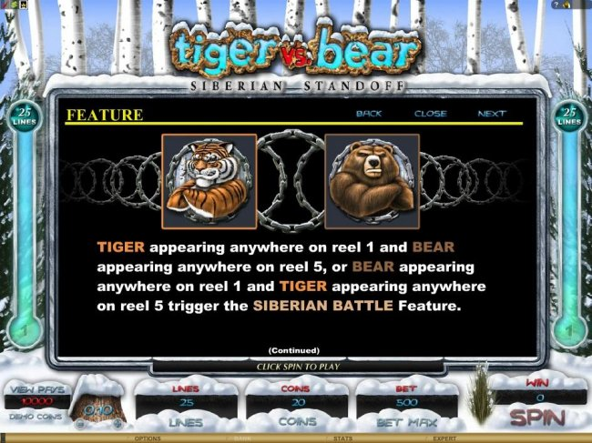 Free Slots 247 image of Tiger vs. Bear