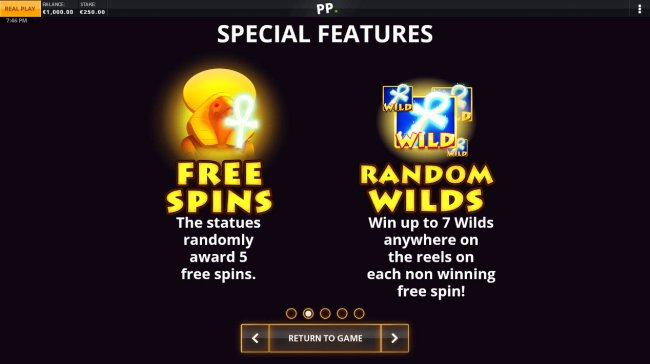 Random Features by Free Slots 247