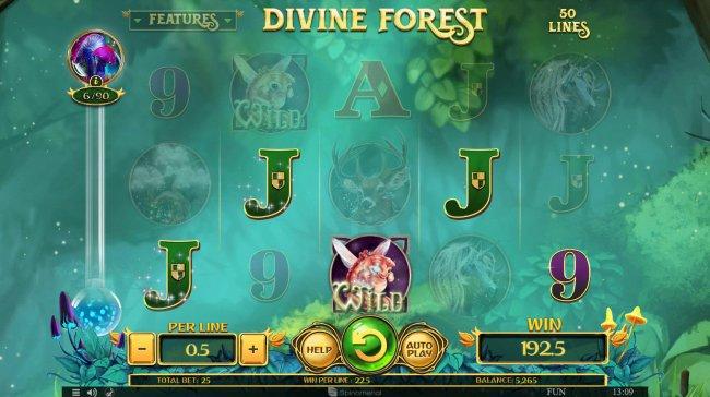 Divine Forest screenshot