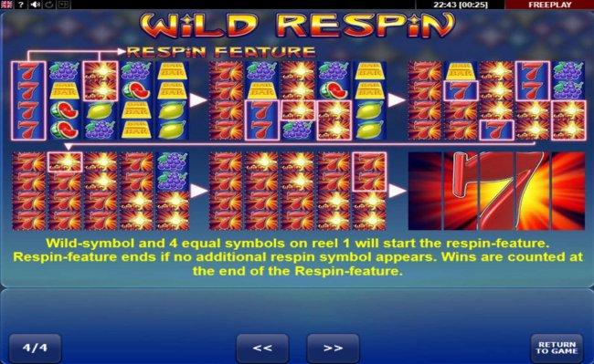 Free Slots 247 image of Wild Respin