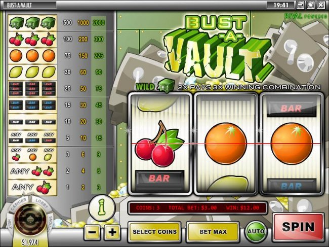Bust-A-Vault screenshot
