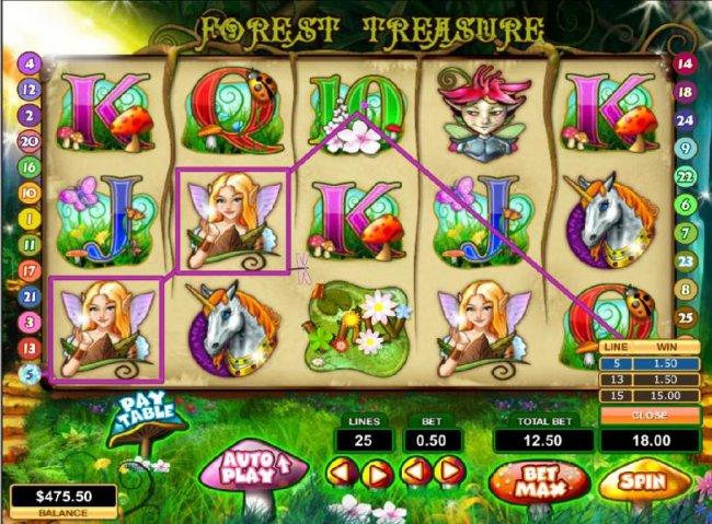 Free Slots 247 image of Forest Treasure