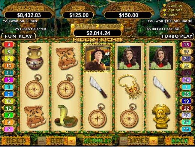 Free Slots 247 image of Hidden Riches