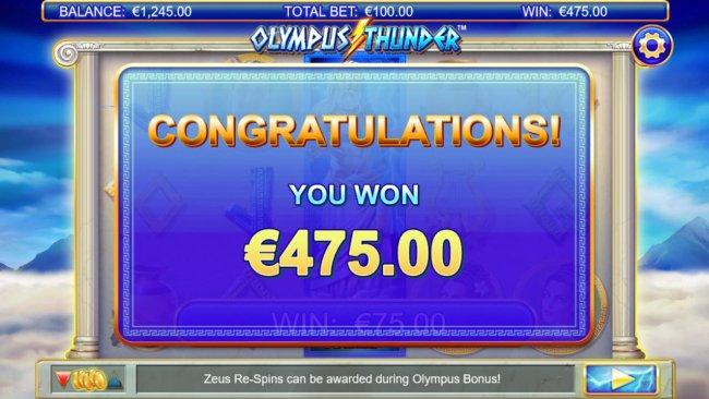 Free Slots 247 image of Olympus Thunder
