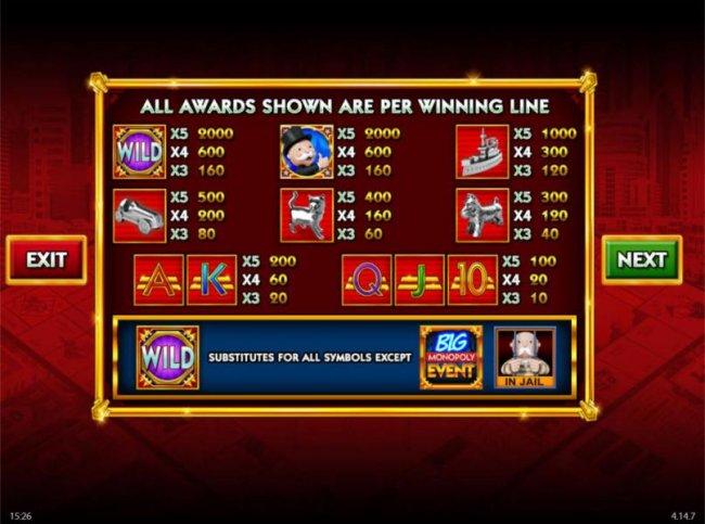 Monopoly Big Event screenshot