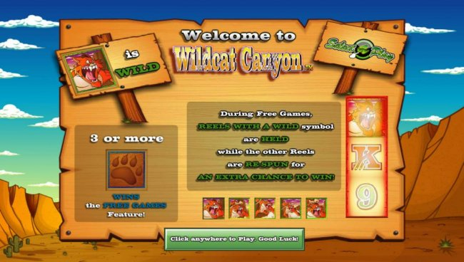 Free Slots 247 image of Wildcat Canyon
