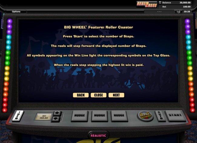 Big Wheel screenshot