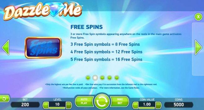 Dazzle Me by Free Slots 247