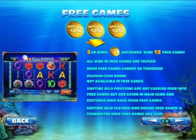 Dolphin Cash screenshot