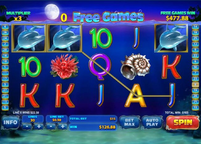 shifting wilds combine to triggering multiple winning paylines and a $165 jackpot - Free Slots 247
