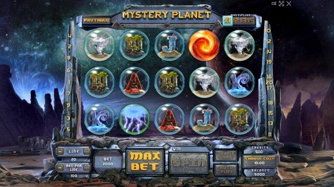 Mystery Planet screenshot