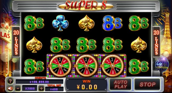 Scatter win triggers the bonus feature by Free Slots 247