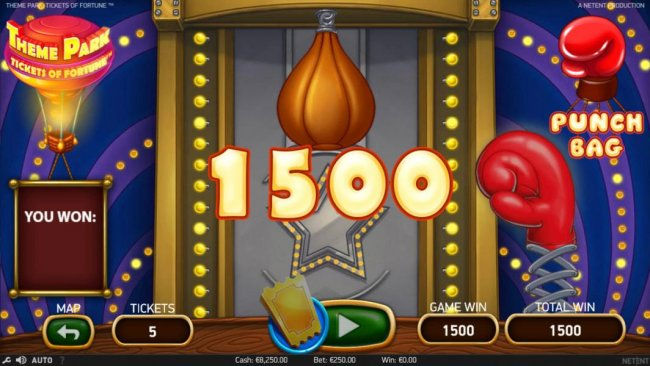 Theme Park Tickets of Fortune by Free Slots 247
