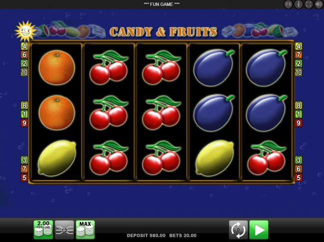 Candy & Fruits screenshot