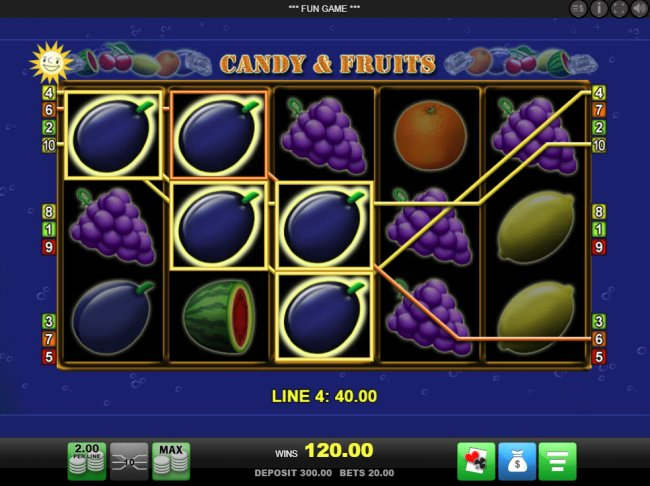 Multiple winning paylines - Free Slots 247