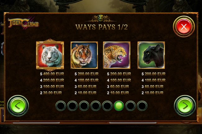 Free Slots 247 image of Tiger Claws