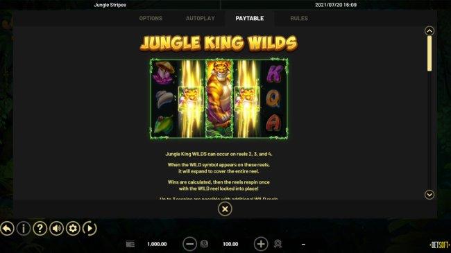 Jungle Stripes screenshot