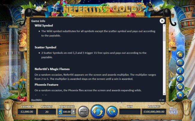 Nefertiti's Gold screenshot