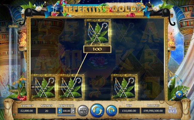 Free Slots 247 image of Nefertiti's Gold