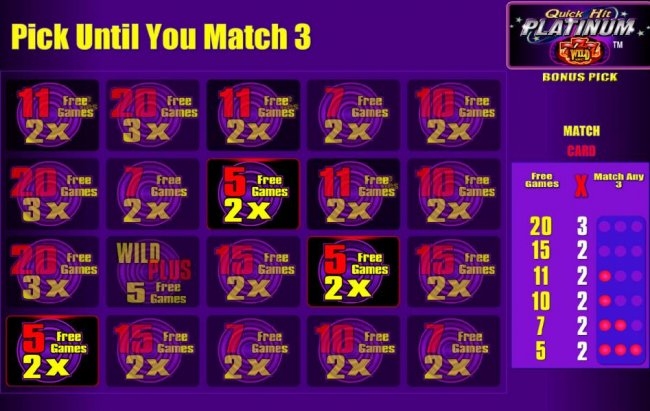 Free Slots 247 - 5 free games awarded with a 2x multiplier