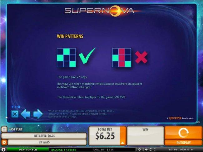 Supernova by Free Slots 247