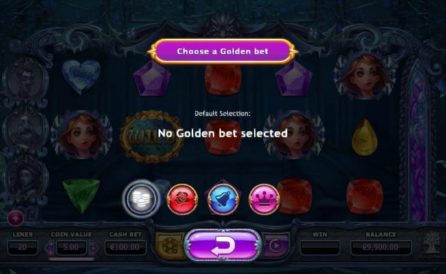 Clicking on the gold button located net to the spin button will aloow to you select 1 of 3 optional game features. - Free Slots 247