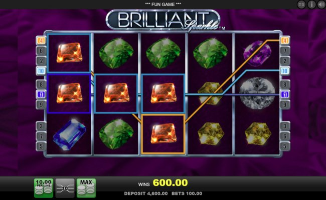 Big win triggered by multiple winning paylines by Free Slots 247