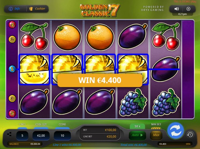 Free Slots 247 image of Golden 7 Classic