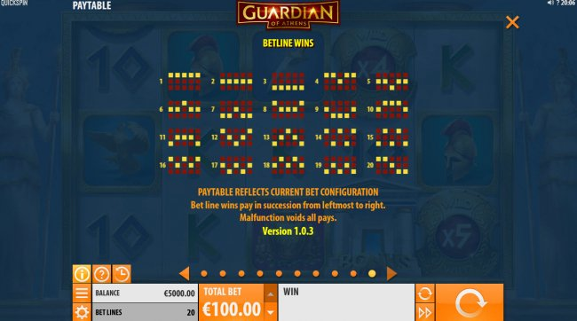Free Slots 247 image of Guardian of Athens