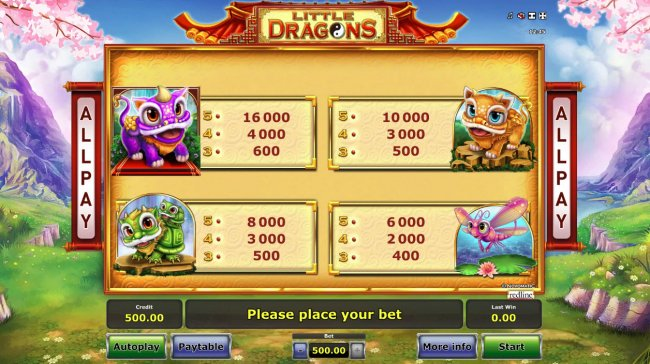 Free Slots 247 image of Little Dragons