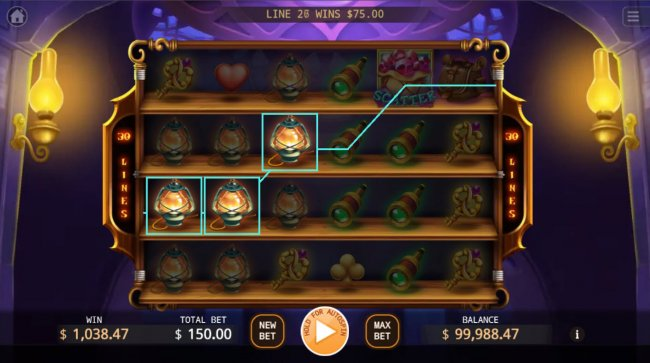 A three of a kind win - Free Slots 247