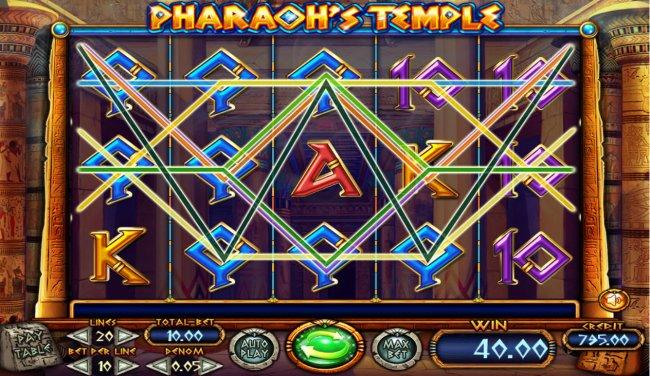 Pharaoh's Temple screenshot