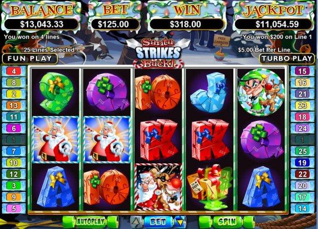Santa Strikes Back screenshot