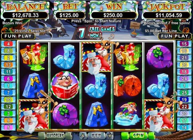 Rudolphs Revenge Bonus by Free Slots 247