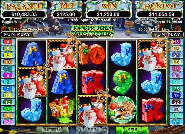 Free Slots 247 image of Santa Strikes Back