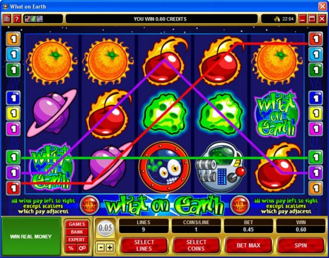 Free Slots 247 image of What on Earth