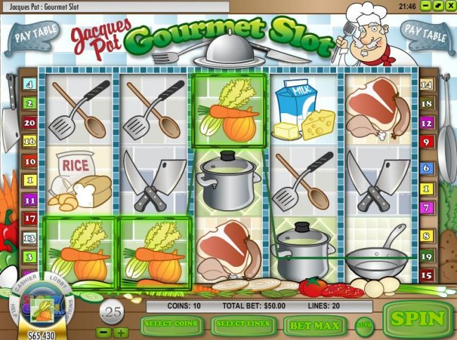 Free Slots 247 image of Jacques Pot Gourmet Slot