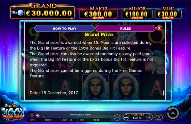 Mystic Moon Big Hit Bonanza by Free Slots 247