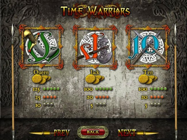 Time Warriors by Free Slots 247