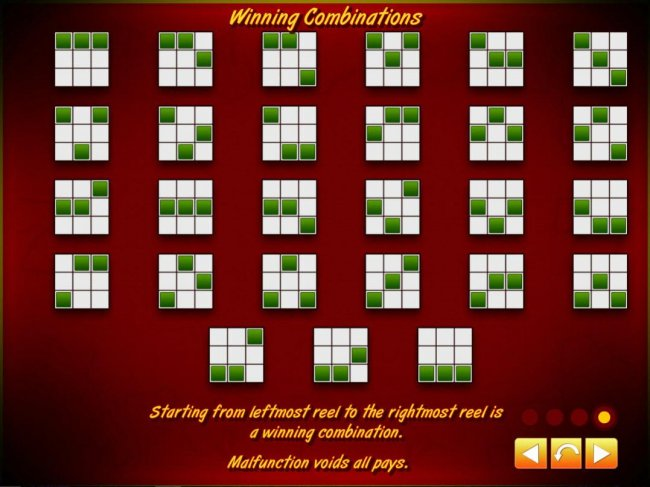 Free Slots 247 - Payline Diagrams 1-27. Starting from the leftmost reel to the rightmost reel is a winning combination.