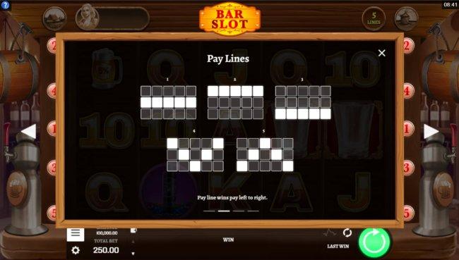Bar Slot screenshot