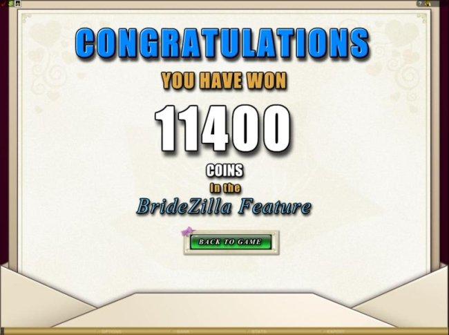 Bridezilla by Free Slots 247