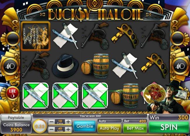 Free Slots 247 - A winning Three of a Kind.