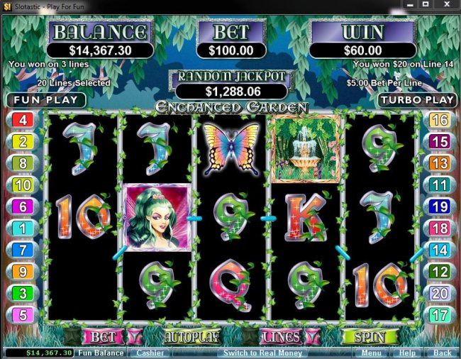 Enchanted Garden by Free Slots 247