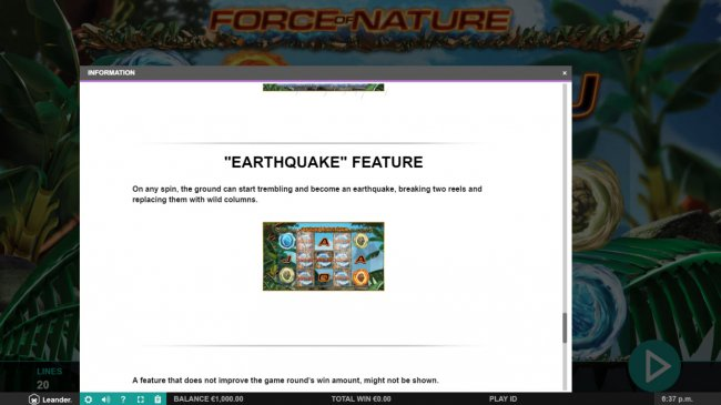 Free Slots 247 image of Force of Nature